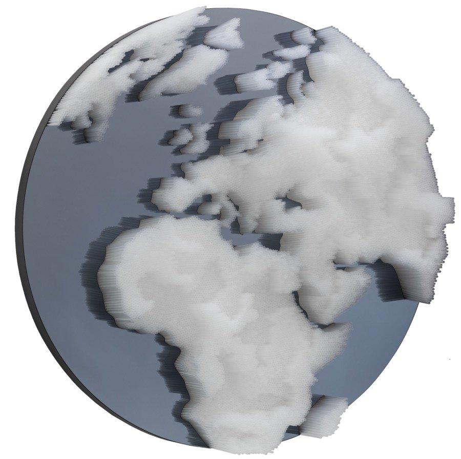 Pasquali, Plastic world, 2020, diam 120x25 cm