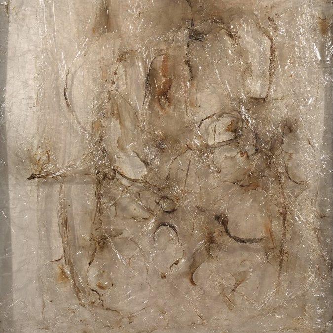 Alberto Burri, Plastica, 1963, 98x74 cm