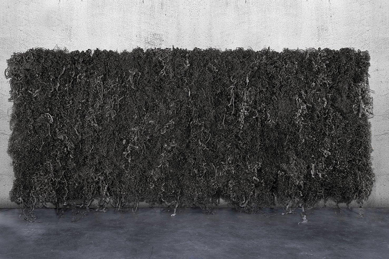 Francesca Pasquali, Plastic Plot, 2017, mixed media, 157,48 x 66,93 x 7,87 inch