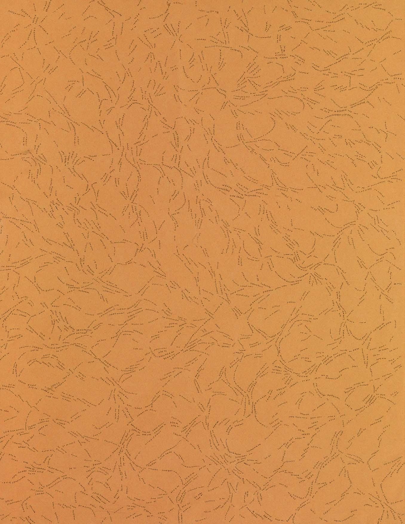 Dadamaino, Interludio, 1981, 62,5 x 48 cm